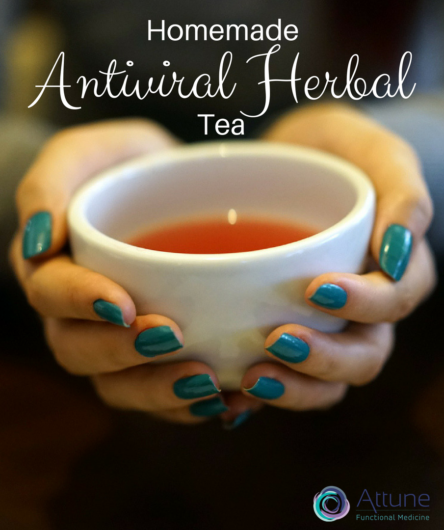 Herbal Antiviral Tea for Flu